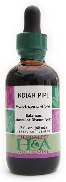 Indian Pipe Liquid Extract by Herbalist & Alchemist