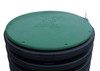 "30"" Plastic Septic Riser Cover (Green)"