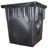 """NDS 18"""" x 18"""" Catch Basin w/Two Opening (1 Piece)"""