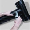 """Black PVC Tile Tape 2"""" X 108'"""