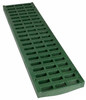 """NDS Pro Series 5"""" Light Traffic Channel Grate - Green (Each)"""