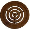 """Iron Age Baked on Oil Finish Cast Iron Bullseye 6"""" Round Grate"""