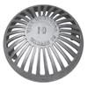 """12"""" Aluminum Dome Grate"""