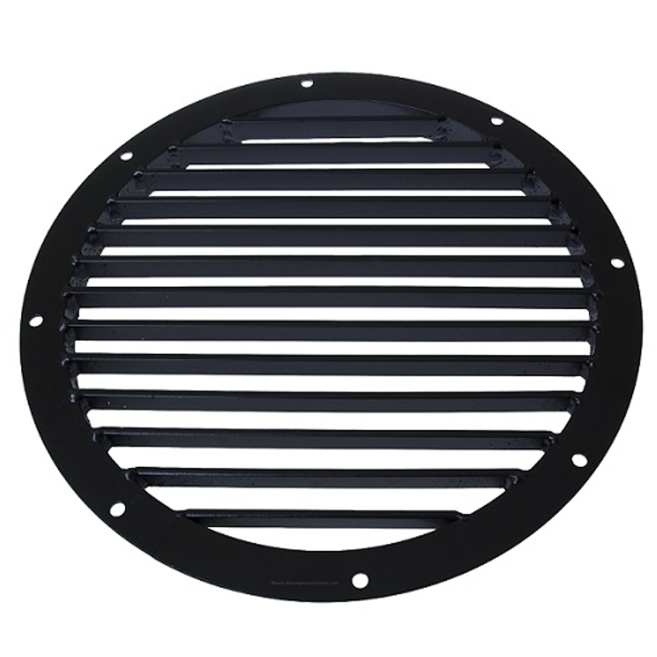 Round 24 Quot Steel Grate Black The Drainage Products Store