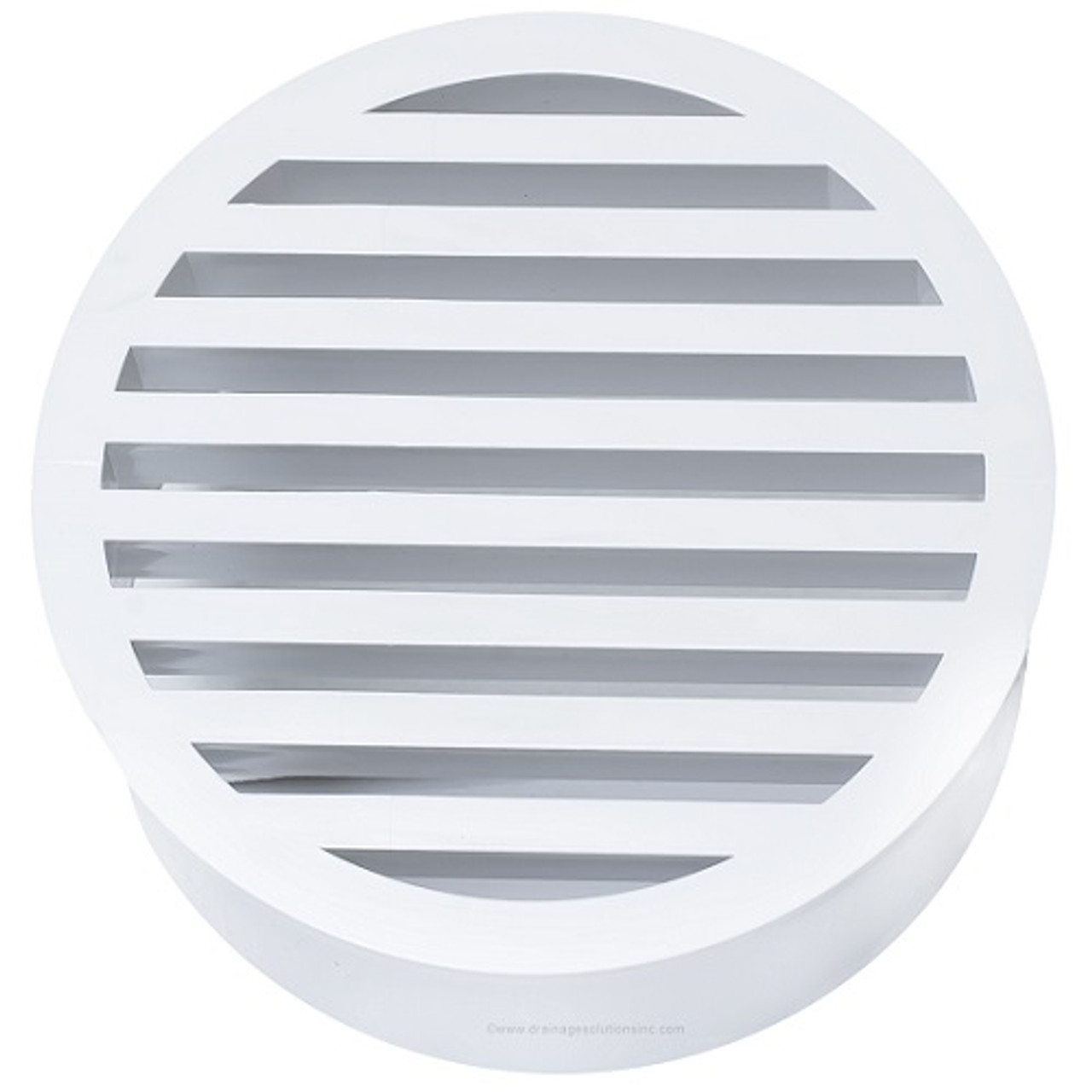 8 Quot Pvc Sdr35 Drain Grate Sp White The Drainage