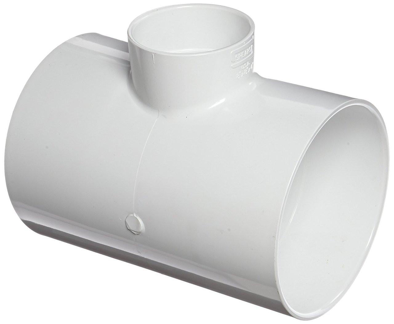 8 X 4 PVC DWV Vent Tee