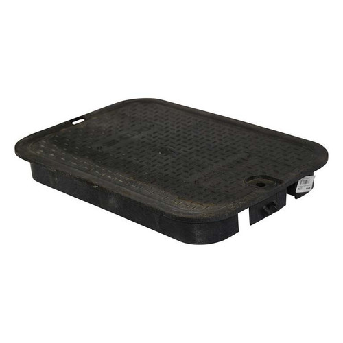 """NDS 14"""" x 19"""" Valve Box Cover ONLY - Black"""
