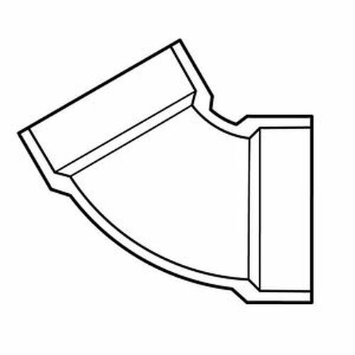 "6"" PVC DWV 60 (1/6) (S x S)"