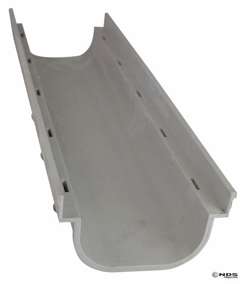 "NDS Pro Series 5"" Shallow Profile Channel Drain"