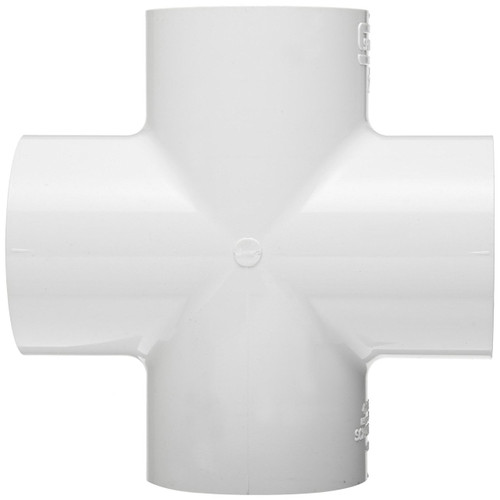"2 1/2"" PVC Schedule 40 Cross (S x S x S x S)"