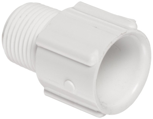 """8"""" PVC Schedule 40 Male Adapter (S x MPT)"""