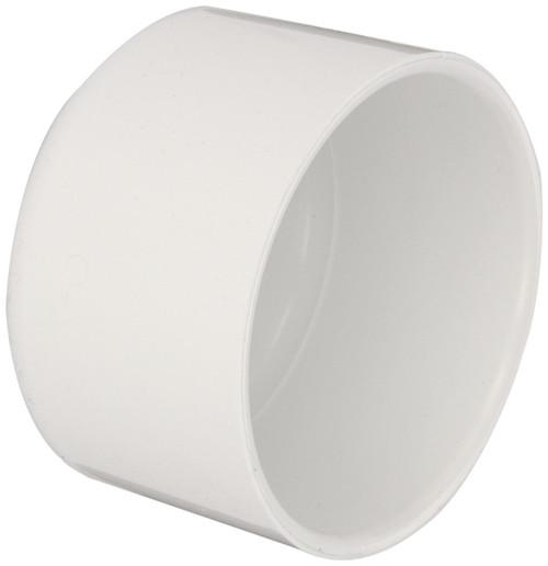 "2 1/2"" PVC Schedule 40 Cap (S)"