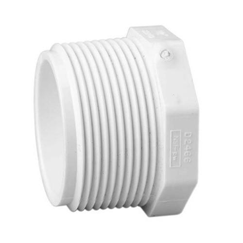 "2 1/2"" PVC Schedule 40 Plug (MPT)"