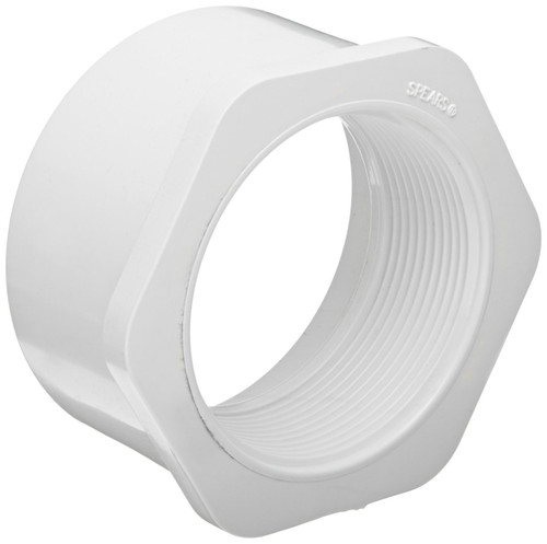 "3"" x 1 1/2"" PVC Schedule 40 Reducer Bushing (Sp x FPT)"