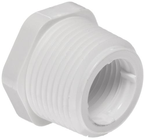 "3"" x 2"" PVC Schedule 40 Reducer Bushing (MPT x FPT)"