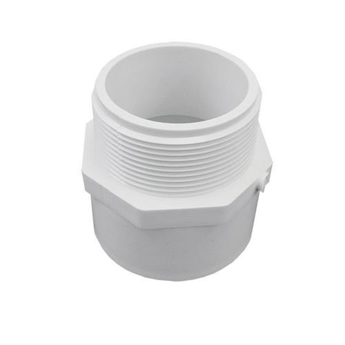"""1 1/2"""" x 2"""" PVC Schedule 40 Reducing Male Adapter (S x MPT)"""