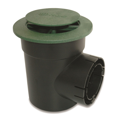 """6"""" NDS Pop-Up Emitter with Single Outlet Spee-D Basin (Green) (Each)"""