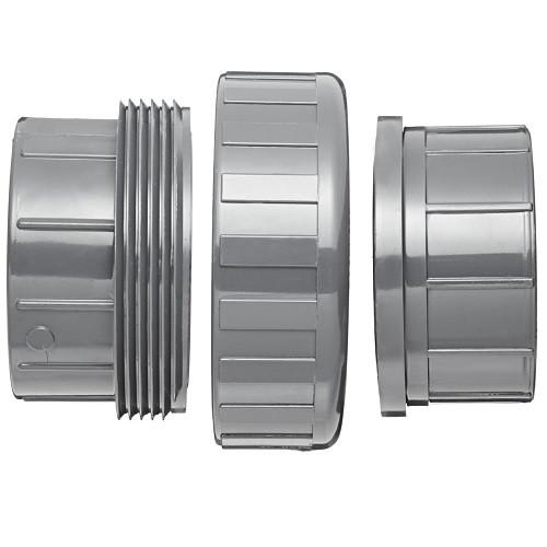 "2"" PVC Schedule 80 Union (S x S) Viton O-Ring"