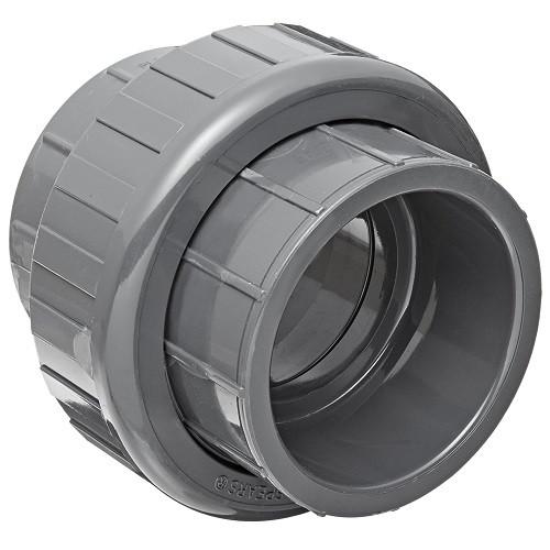 "3"" PVC Schedule 80 Union (S x S) Viton O-Ring"