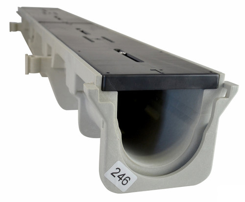 "NDS Dura Slope Channel Drain 091N (4.34"" Neutral)"