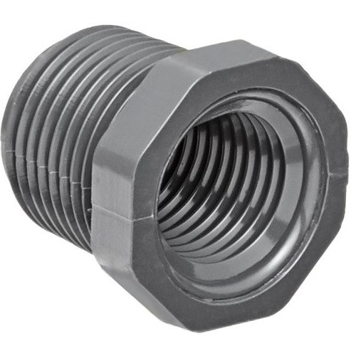 "3"" x 1 1/2"" PVC Schedule 80 Reducer Bushing (MPT x FPT)"