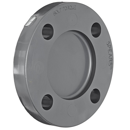 "2"" PVC Schedule 80 Blind Flange 150 PSI"