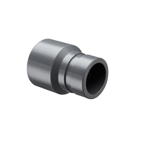 """5"""" PVC Schedule 80 Fabricated Grooved Coupling (Grooved x S)"""