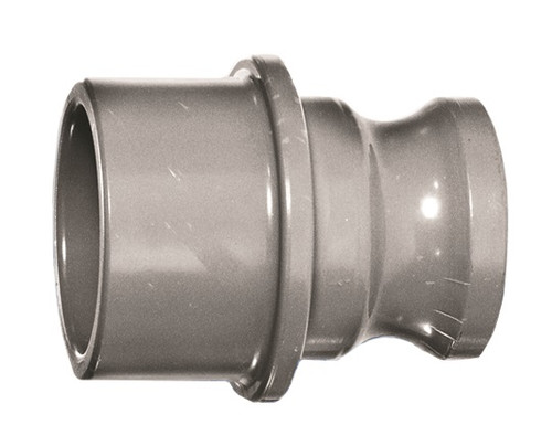 """3"""" PVC Quick Disconnect (Male Adapter x PVC Socket)"""
