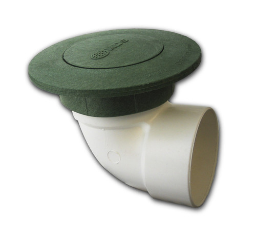 """3"""" NDS Pop-Up Emitter with SDR35 Elbow (Green) (Each)"""