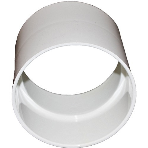 """3"""" PVC SDR35 Solvent Weld Coupling (S x S)"""