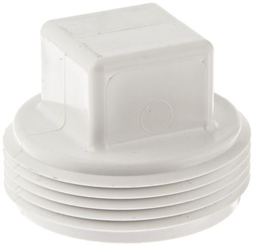 """1 1/2"""" PVC DWV Cleanout Plug (MPT)"""
