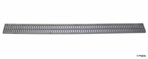 NDS Mini Channel Grate - Gray (Box of 16)