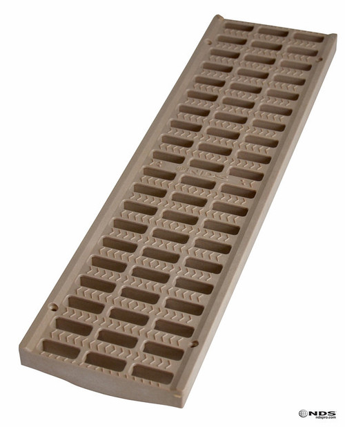 "NDS Pro Series 5"" Light Traffic Channel Grate - Sand (Box of 10)"