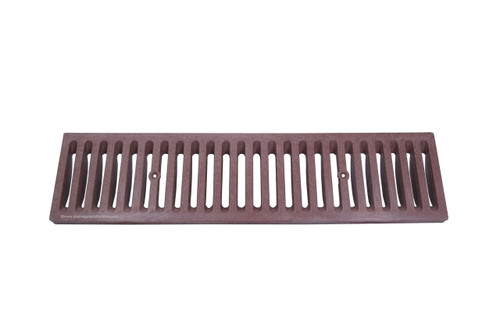 NDS Dura Slope Plastic Grate - Brick Red (Box of 12)