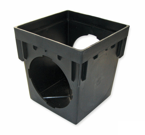 """NDS  9"""" x 9"""" Catch Basin w/Two Openings (Each)"""