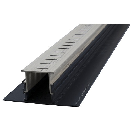 Stegmeier Adjustable Height Paver Drain (Marble) 5'