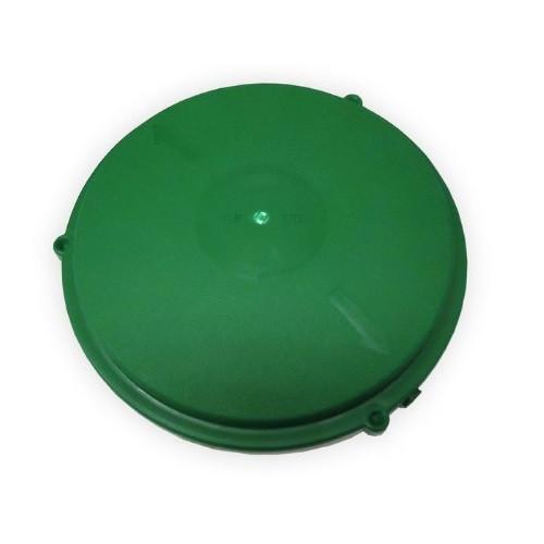 """Tuf-Tite 12"""" Domed Riser Lid (Green)"""