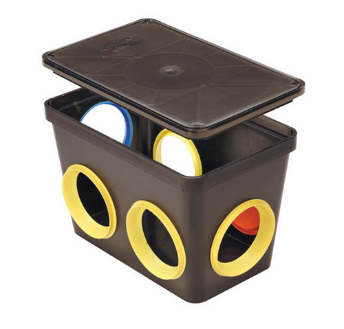 Tuf-Tite 6 Hole Distribution Box & Lid