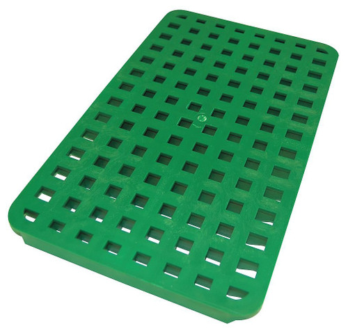 "Tuf-Tite 9"" x 14"" Grate (Green)"