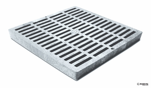 "NDS 12"" Catch Basin Kit w/ Gray Grate"