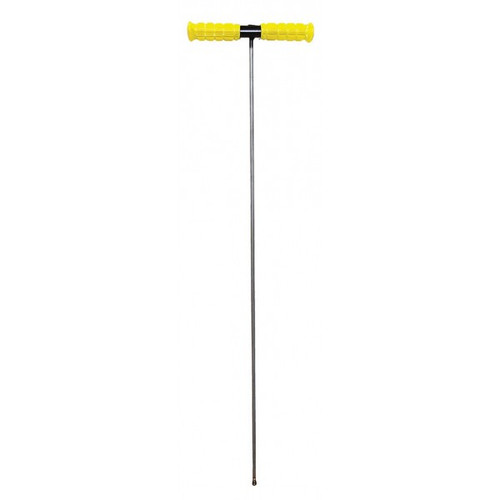 "5' Heavy Duty Tile Probe with 3/8"" Rod & Welded Tip"