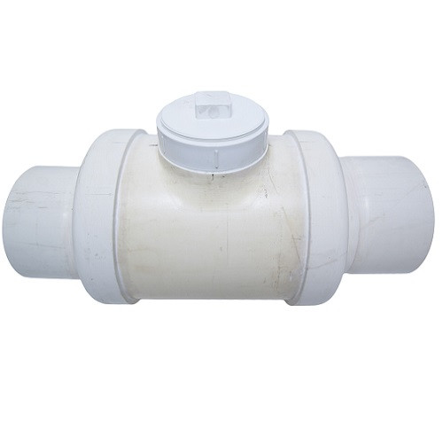 "8"" PVC DWV Fabricated Backwater Valve (S x S)"