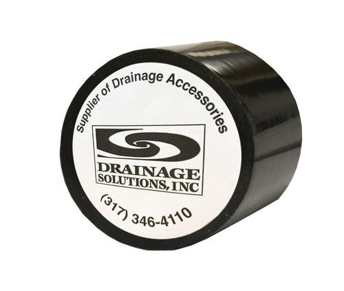 """Black PVC Tile Tape 2"""" X 108' (Box of 24)"""