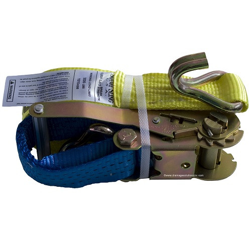 "2"" x 27' Wire Hook Ratchet Strap  (3,335 lb. / 10,0000 lb.)"