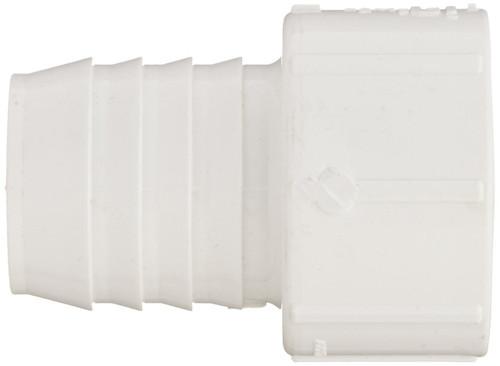 """3"""" PVC Pipe Insert Adapter (Insert x Socket) (White)"""