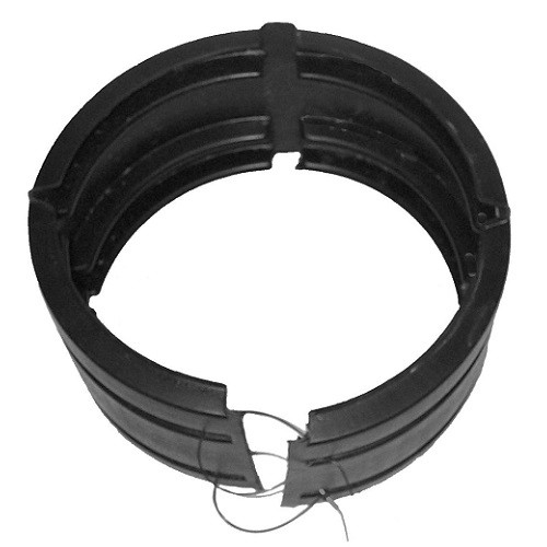 "HDPE  6"" Singlewall / Doublewall Split Coupling"