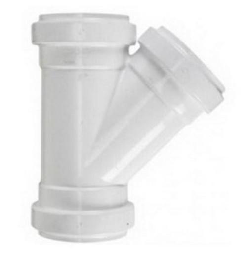 "12"" PVC SDR35 Gasket Joint Wye (G x G x G)"