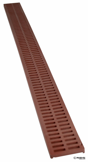 NDS Mini Channel Grate - Brick Red (Each)
