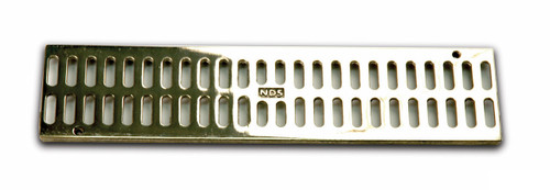 NDS Mini Channel Grate - Polished Brass