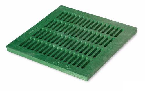 """NDS Square Plastic Grate For 18"""" Basin - Green"""